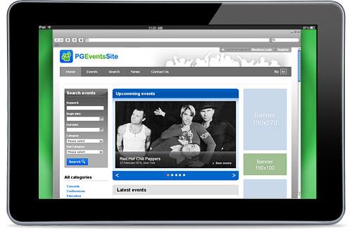 Готовое решение для создания сайта конференции или портала событий