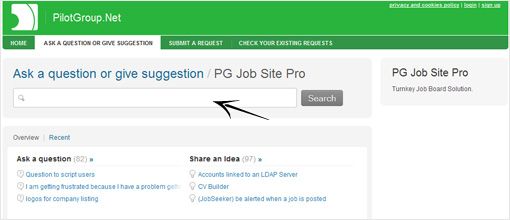 Technical support. PG Job Site Pro Solution | Customize a Job Board script
