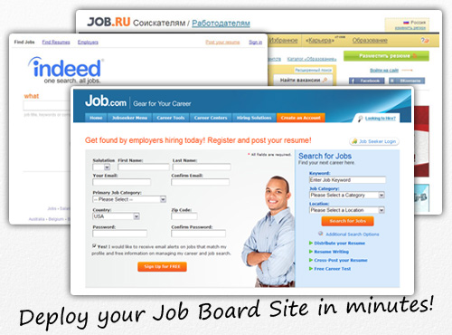 The most flexible and customizable Job Board Script