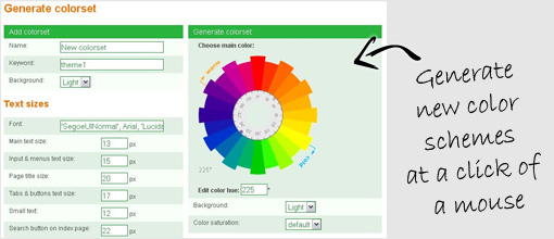 Color schemes. PG Job Site Pro Solution | Customizable php job board script