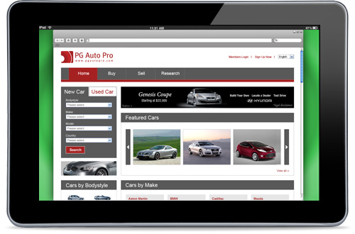 Auto classifieds software for car dealing business!
