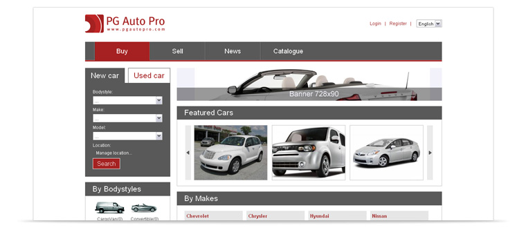 PG Auto Pro | Car dealer php script features