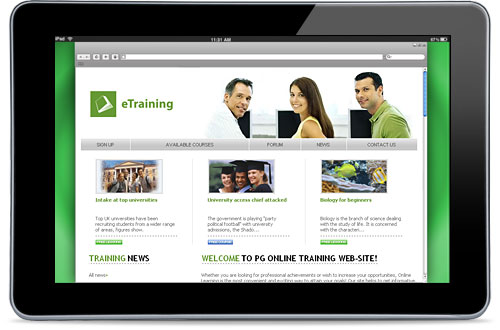 Turnkey eTraining Solution