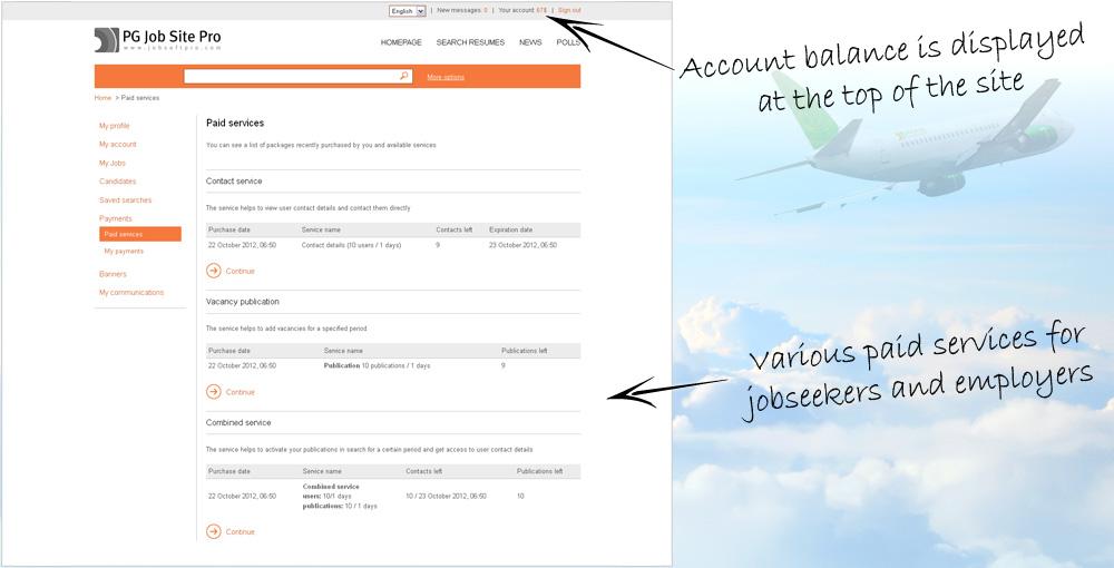 PG Job Search Script - Monetization tools