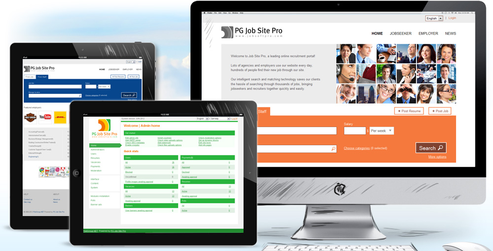 PG Job Site Pro Solution | Web based recruitment software features and main-reasons